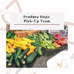Produce Hope Pick-Up Team