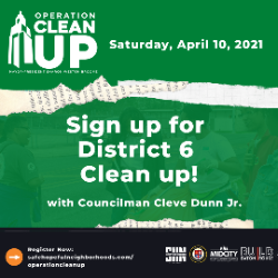 Join District 6's Cleanup!